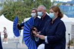 Agora - 11 septembre 2021 - 15/18 : la démonstration avec l'éventail